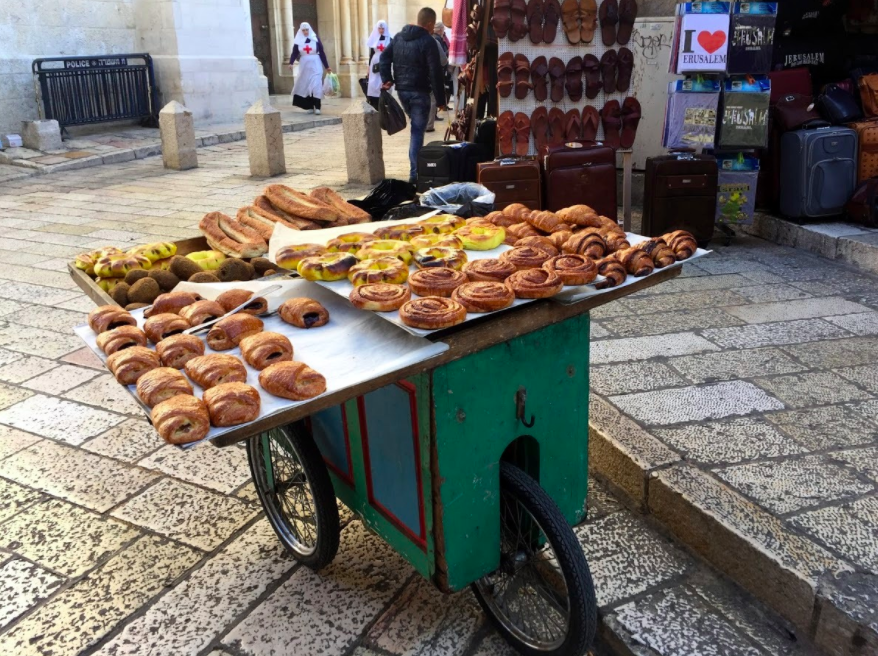 Pilgrim Steps: Hungry? How's About a Snack?