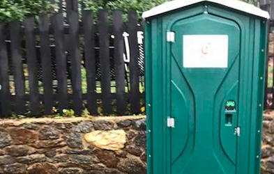 What the World Needs Now Is…a Porta Potty?