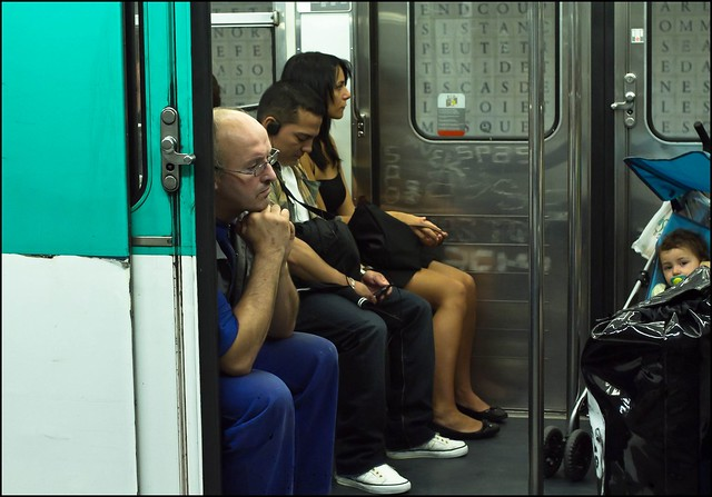 What Happens When You Eavesdrop on the Subway